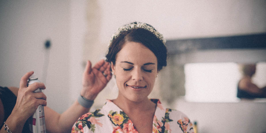 Wedding hairstyle - Annette Carr 04