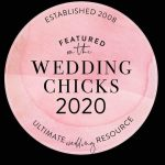 Badge of wedding hairstylist